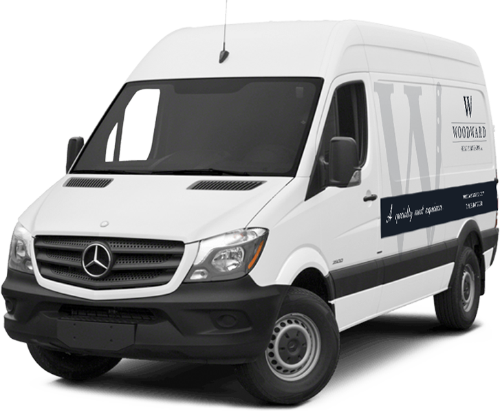 woodward meats mercedes sprinter van